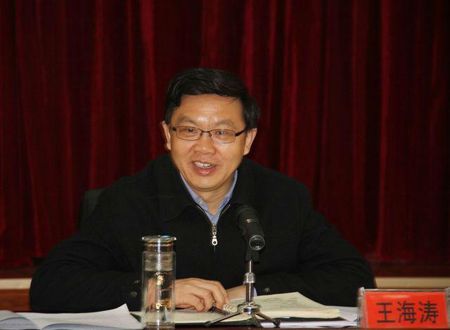 州委书记王海涛到州中院调研指导工作